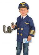 Детский костюм ПИЛОТ от 3-6 лет