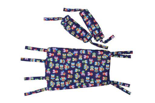 Защита на кроватку детскую Лулу – full на завязках