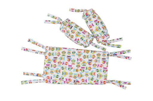 Защита на детскую  кроватку, полный периметр Милашка – full