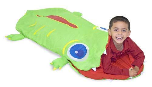 """Спальный мешок детский для туризма """"Крокодил"""""""