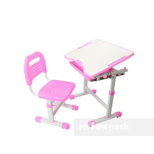 Комплект парта и стул-трансформеры FunDesk Sole Pink