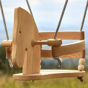 Гойдалка дерев'яна (коник)