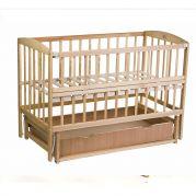 Ліжко VALERI на підшипниках з відкидною боковиною з шухлядою (бук)