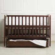 Ліжко VALERI на підшипниках з від.бок.з шухл.(горіх)