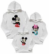 "Комплект 3х толстовок Family look ""Mickey and Minnie"""