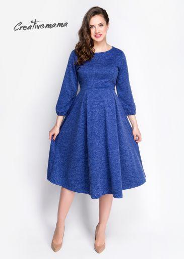 """Праздничное платье для беременных с рукавчиком в три четверти """"Kristall"""""""