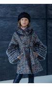 Пальто «Миранда» цв.нить с чернобуркой
