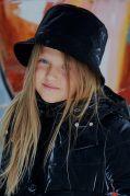Шляпа-панама плащевка черная