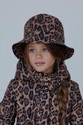 Шляпа-панама леопард