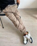 """Детские брюки джоггеры для мальчика """"MATE"""" (бежевый)"""