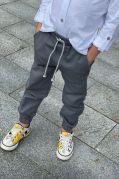 """Детские брюки джоггеры для мальчика """"MATE"""" (серый)"""