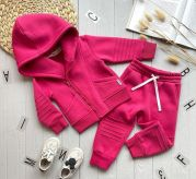 Детский костюм интересного кроя Косуха (розовый)