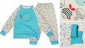Пижама для девочки РЫБКИ