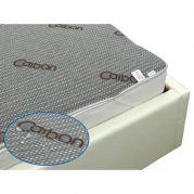 """Непромокаемый наматрасник на резинке """"Carbon"""" 90х200 см"""