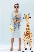 Большой плюшевый жираф