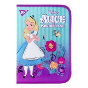 "Папка для труда YES пласт. на молнии FC ""Alice in Wonderland"""