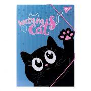 """Папка для труда YES картонная A4 """"Meow"""""""