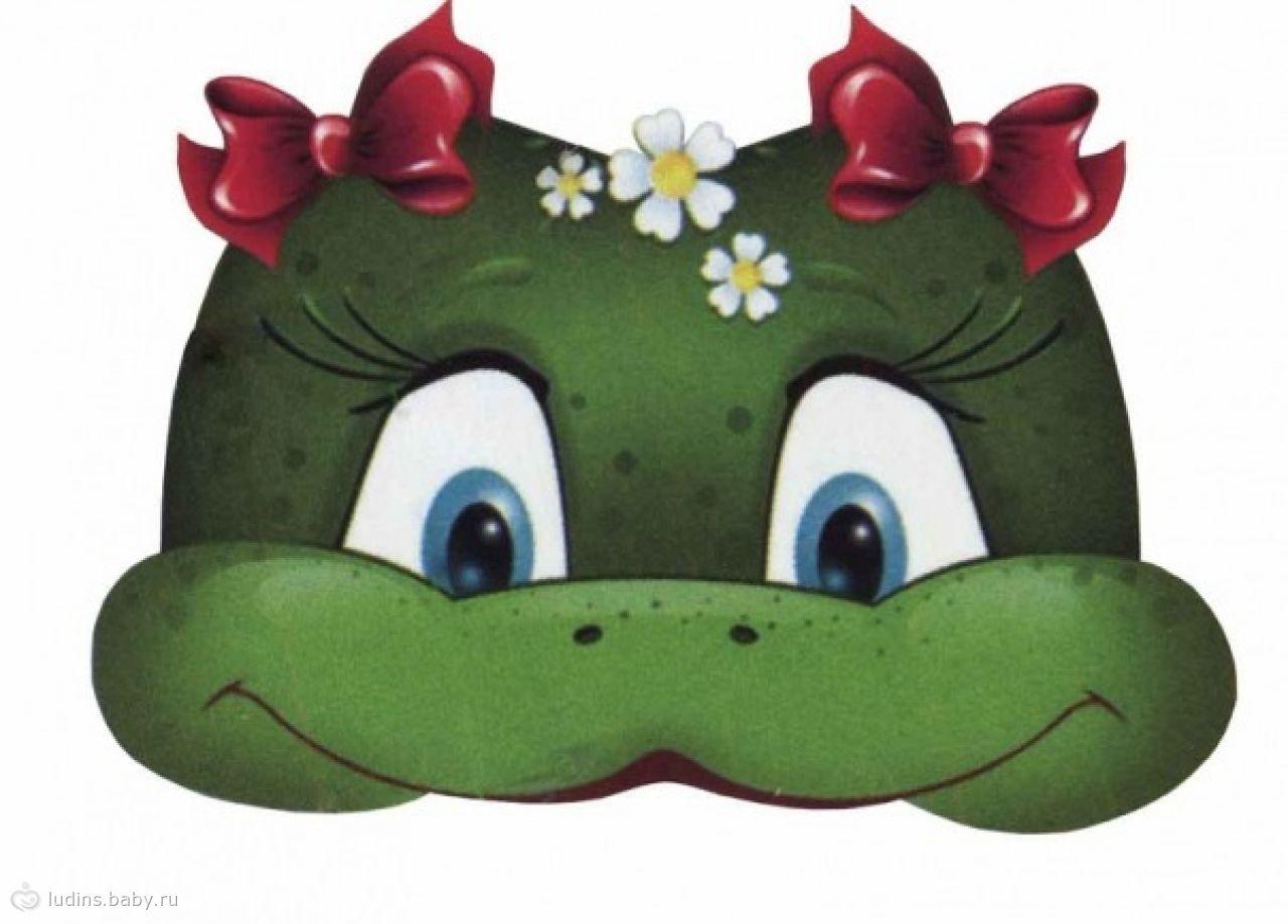 Как из картона сделать маску лягушки на голову своими руками из картона фото 807